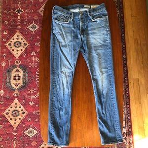 All Saints cigarette jeans
